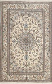 Nain 6La Alfombra 193X299 Oriental Hecha A Mano Marrón Claro/Beige (Lana/Seda, Persia/Irán)