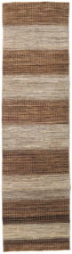Ziegler Modern Rug 76X292 Authentic  Modern Handknotted Hallway Runner  Brown/Light Grey (Wool, Pakistan)