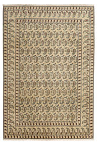 Keshan Rug 220X326 Authentic  Oriental Handknotted Light Brown/Dark Beige (Wool, Persia/Iran)