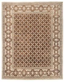 Ziegler Modern Rug 244X300 Authentic  Modern Handknotted Brown/Beige/Light Brown (Wool, Pakistan)