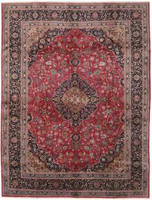 Kashmar Tapis 295X383 D'orient Fait Main Marron Clair/Bleu Foncé Grand (Laine, Perse/Iran)