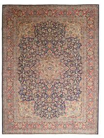 Kerman Matta 295X395 Äkta Orientalisk Handknuten Ljusbrun/Brun Stor (Ull, Persien/Iran)
