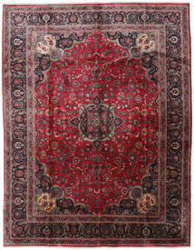 Kashmar Rug 295X384 Authentic  Oriental Handknotted Brown/Dark Red Large (Wool, Persia/Iran)
