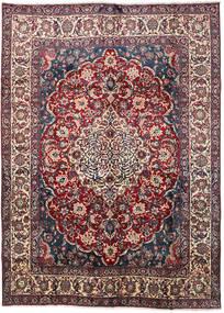 Yazd 러그 289X395 정품  오리엔탈 수제 다크 브라운/브라운 대형 (울, 페르시아/이란)