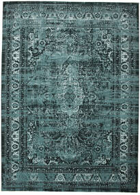Jacinda - Dark Rug 9′10″X13′1″ Modern Blue/Turquoise Blue/Dark Blue Large ( Turkey)