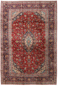 Keshan Rug 260X383 Authentic  Oriental Handknotted Dark Red/Rust Red Large (Wool, Persia/Iran)