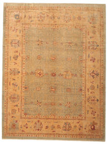 Oushak Rug 323X424 Authentic  Oriental Handknotted Light Brown Large (Wool, Turkey)