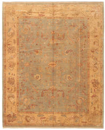 Oushak Rug 242X296 Authentic Oriental Handknotted Light Brown (Wool, Turkey)