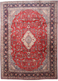 Sarouk Rug 268X370 Authentic  Oriental Handknotted Light Brown/Brown Large (Wool, Persia/Iran)
