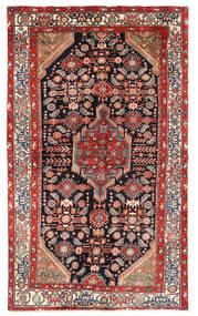 Hamadan Matto 148X245 Itämainen Käsinsolmittu Ruoste/Beige (Villa, Persia/Iran)