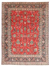 Hamadan Shahrbaf Tapis 270X360 D'orient Fait Main Marron Clair/Rouille/Rouge Grand (Laine, Perse/Iran)