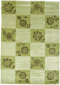Himalaya 絨毯 143X205 モダン 手織り ライトグリーン/深緑色の ( インド)