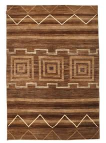 Ziegler Modern Rug 191X280 Authentic  Modern Handknotted Brown/Dark Brown (Wool, Pakistan)