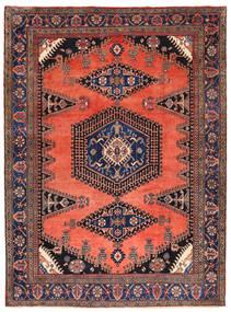 Wiss Matto 280X375 Itämainen Käsinsolmittu Tummanvioletti/Oranssi Isot (Villa, Persia/Iran)