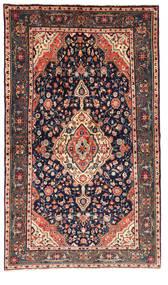 Jozan Tappeto 148X254 Orientale Fatto A Mano Porpora Scuro/Grigio Scuro (Lana, Persia/Iran)