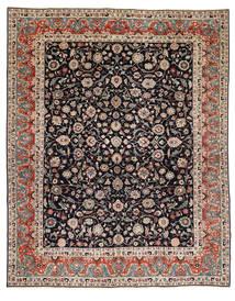 Kashmar Patina Matto 293X370 Itämainen Käsinsolmittu Vaaleanruskea/Tummanvihreä Isot (Villa, Persia/Iran)