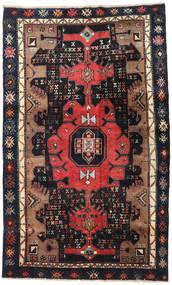 Koliai Rug 138X227 Authentic Oriental Handknotted Dark Red/Dark Blue (Wool, Persia/Iran)