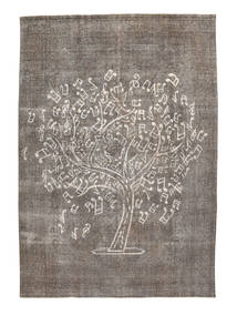 Colored Vintage Rug 276X386 Authentic  Modern Handknotted Light Grey/Dark Grey Large (Wool, Pakistan)