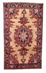 Koliai Rug 145X260 Authentic  Oriental Handknotted Brown/Dark Brown (Wool, Persia/Iran)