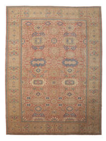 Egypt Rug 418X559 Authentic Oriental Handknotted Light Brown/Brown Large (Wool, Egypt)