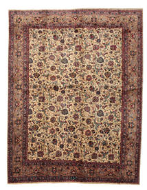 Kashmar Signed: Gholchin Rug 297X383 Authentic  Oriental Handknotted Light Brown/Dark Red Large (Wool, Persia/Iran)