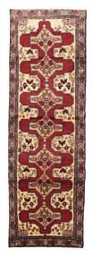 Senneh Matto 100X308 Itämainen Käsinsolmittu Käytävämatto Tummanpunainen/Ruskea (Villa, Persia/Iran)