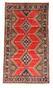 Koliai Rug 145X263 Authentic  Oriental Handknotted Dark Brown/Dark Red (Wool, Persia/Iran)