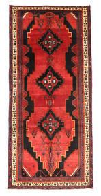 Kurdi Teppe 181X342 Ekte Orientalsk Håndknyttet Orange/Svart (Ull, Persia/Iran)