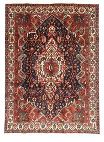 Bakhtiar Alfombra 209X293 Oriental Hecha A Mano Rojo Oscuro/Negro (Lana, Persia/Irán)