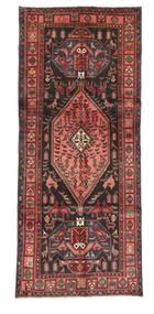 Kurdi Matto 128X303 Itämainen Käsinsolmittu Käytävämatto Ruskea/Tummanruskea (Villa, Persia/Iran)