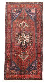 Kurdi Tapijt 136X282 Echt Oosters Handgeknoopt Donkerblauw/Bruin (Wol, Perzië/Iran)