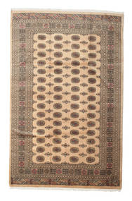 Pakistan Buchara 3Ply Teppich 200X313 Echter Orientalischer Handgeknüpfter Hellbraun/Dunkel Beige (Wolle, Pakistan)