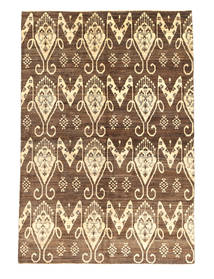 Ziegler Modern Rug 162X235 Authentic  Modern Handknotted Brown/Light Brown (Wool, Pakistan)