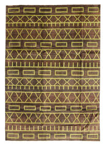 Ziegler Modern Rug 200X288 Authentic  Modern Handknotted Dark Brown/Brown/Light Brown (Wool, Pakistan)