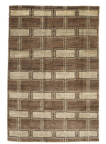 Ziegler Modern Rug 196X296 Authentic  Modern Handknotted Light Brown/Brown (Wool, Pakistan)