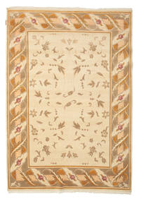 Himalaya Rug 167X238 Authentic  Modern Handknotted Light Brown/Yellow/Dark Beige ( India)