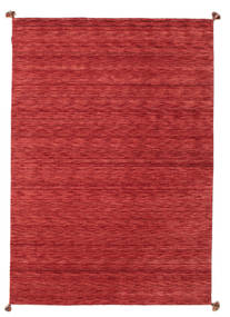 Loribaf Loom Rug 171X244 Authentic  Modern Handknotted Crimson Red/Dark Red/Rust Red (Wool, India)