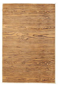 Himalaya Matta 161X239 Äkta Modern Handknuten Ljusbrun/Brun (Ull, Indien)