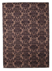 Himalaya Rug 169X238 Authentic Modern Handknotted Dark Brown/Light Brown (Wool, India)