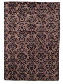 Himalaya Teppich  168X240 Echter Moderner Handgeknüpfter Dunkelbraun/Hellbraun (Wolle, Indien)