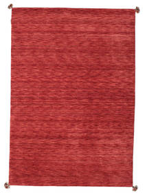 Loribaf Loom Rug 171X245 Authentic  Modern Handknotted Crimson Red/Dark Red/Rust Red (Wool, India)