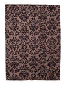 Himalaya Rug 170X236 Authentic  Modern Handknotted Dark Red/Dark Brown (Wool, India)