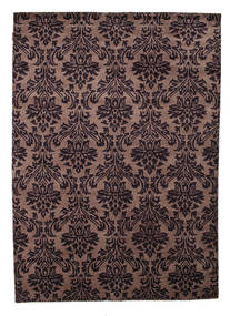 Himalaya Rug 168X237 Authentic  Modern Handknotted Dark Red/Light Brown (Wool, India)