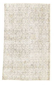 Colored Vintage Rug 116X194 Authentic  Modern Handknotted Beige/Light Grey (Wool, Turkey)