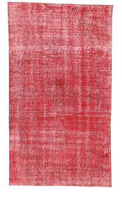 Colored Vintage Rug 113X203 Authentic  Modern Handknotted Rust Red/Pink (Wool, Turkey)