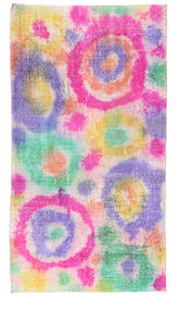 Colored Vintage rug XCGW621