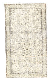 Colored Vintage Rug 117X213 Authentic  Modern Handknotted Beige/Dark Beige (Wool, Turkey)