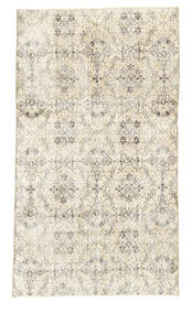Colored Vintage Alfombra 111X205 Moderna Hecha A Mano Beige/Beige Oscuro (Lana, Turquía)