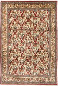 Kom Kork Obrazkowy Dywan 226X334 Orientalny Tkany Ręcznie Brązowy/Jasnobrązowy (Wełna, Persja/Iran)