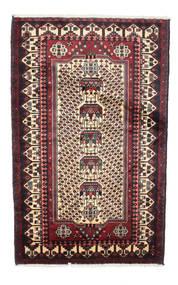 Saveh Rug 100X167 Authentic  Oriental Handknotted Dark Red/Dark Blue (Wool, Persia/Iran)